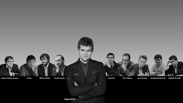 Participantes de la cuarta edición del Altibox Norway Chess