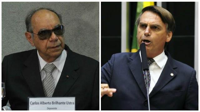 Bolsonaro tem direito de homenagear quem quiser, diz viúva do grande coronel Brilhante Ustra