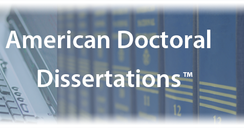 doctoral dissertations accepted by american universities