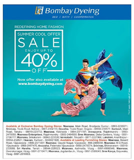 BOMBAY dYEING SUMMER SALE
