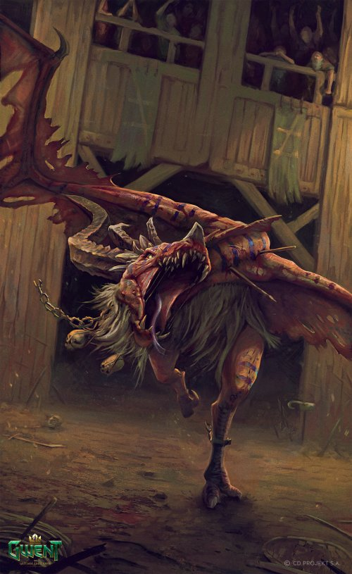 Maciej Laszkiewicz artstation arte ilustrações fantasia games the witcher