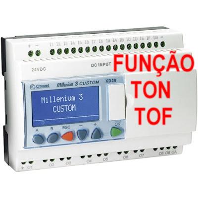 Atividade em CLP funções TON e TOF (temporizadores)