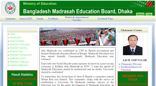 SSC Result 2016 Madrasah Board