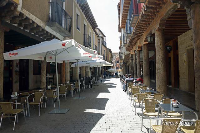 La rua, Medina de Rioseco