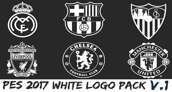 PES 2017 White Logo Pack V1