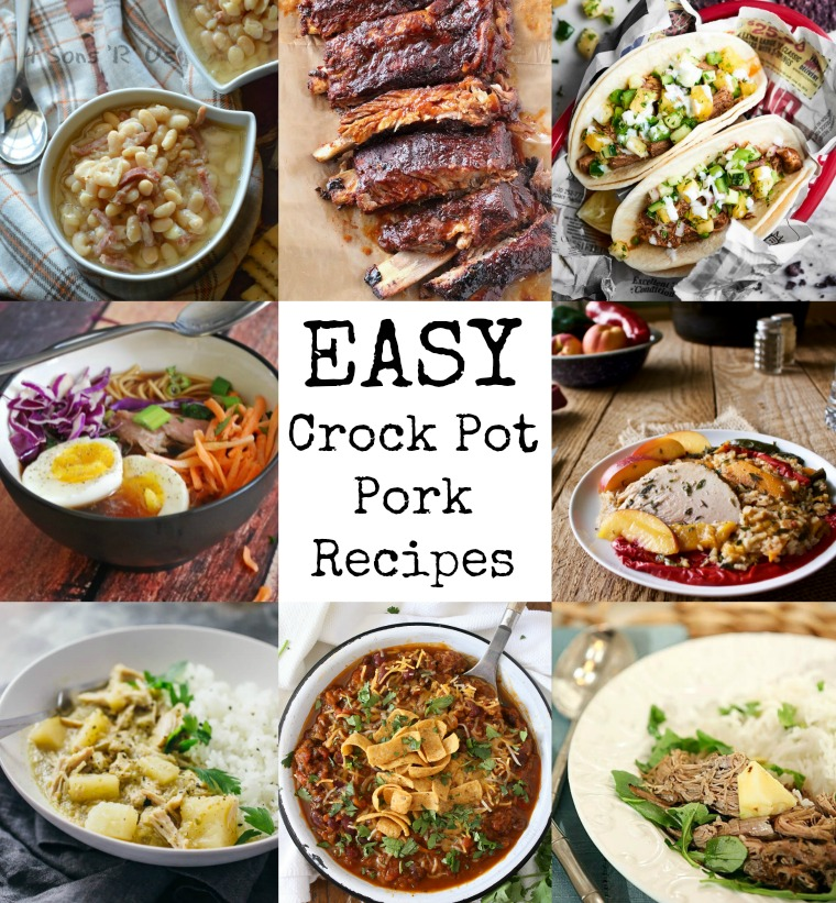Easy Crock Pot Pork Recipes for Weeknights