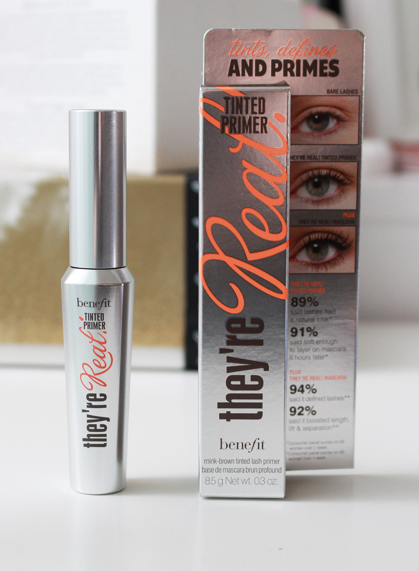 14b8a2c312c They're Real Tinted Primer comes in almost identical packaging to the  mascara, but it is a mink brown shade that tints and defines lashes for a  feathery ...