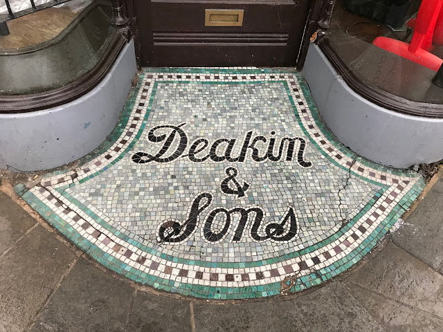Deakin & Sons, Doorway mosaic, Canterbury, Kent