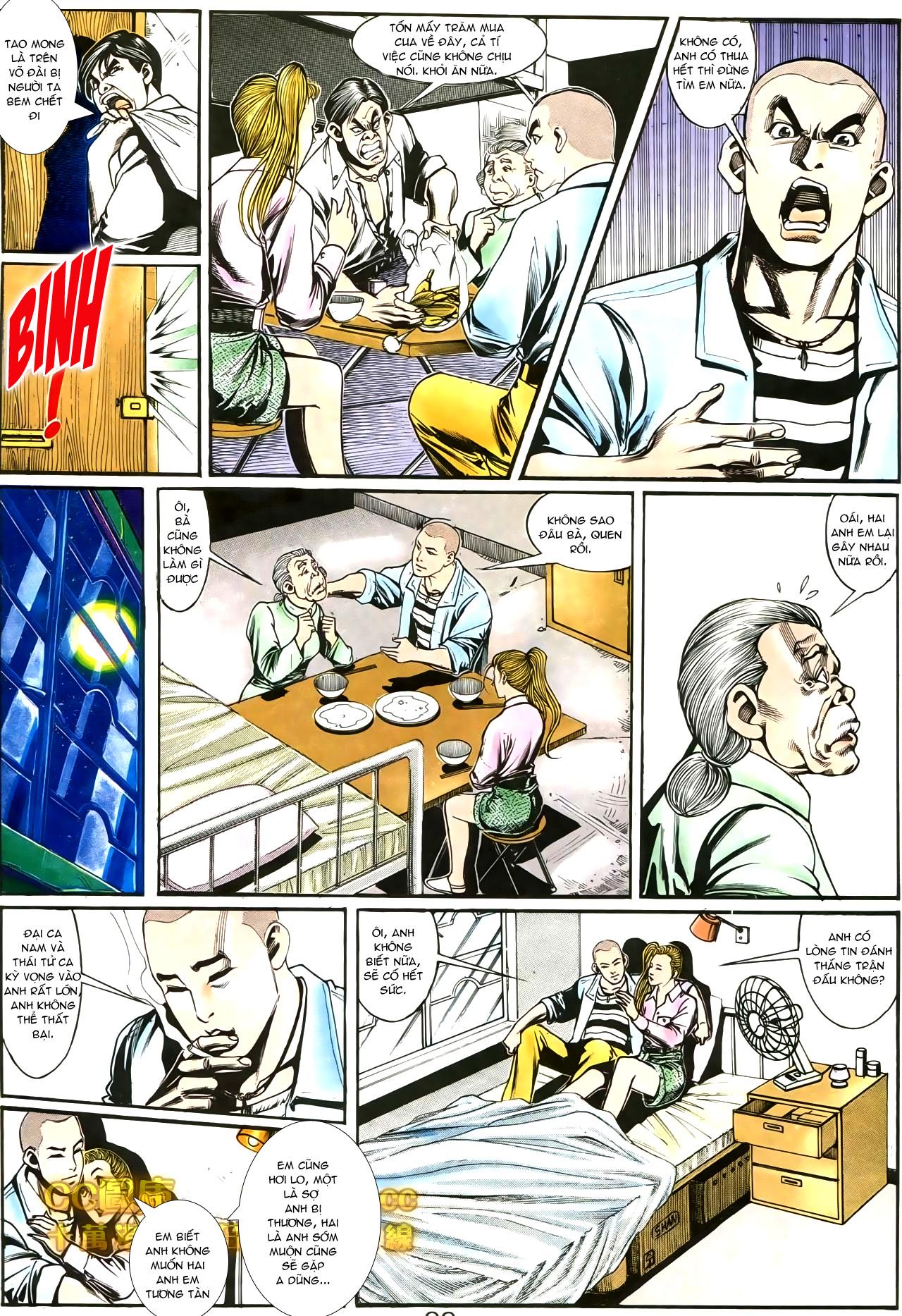 Người Trong Giang Hồ chapter 188: chiến nô trang 4
