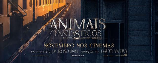 Reveladas as datas de todos os Filmes de Animais Fantásticos e Onde Habitam!