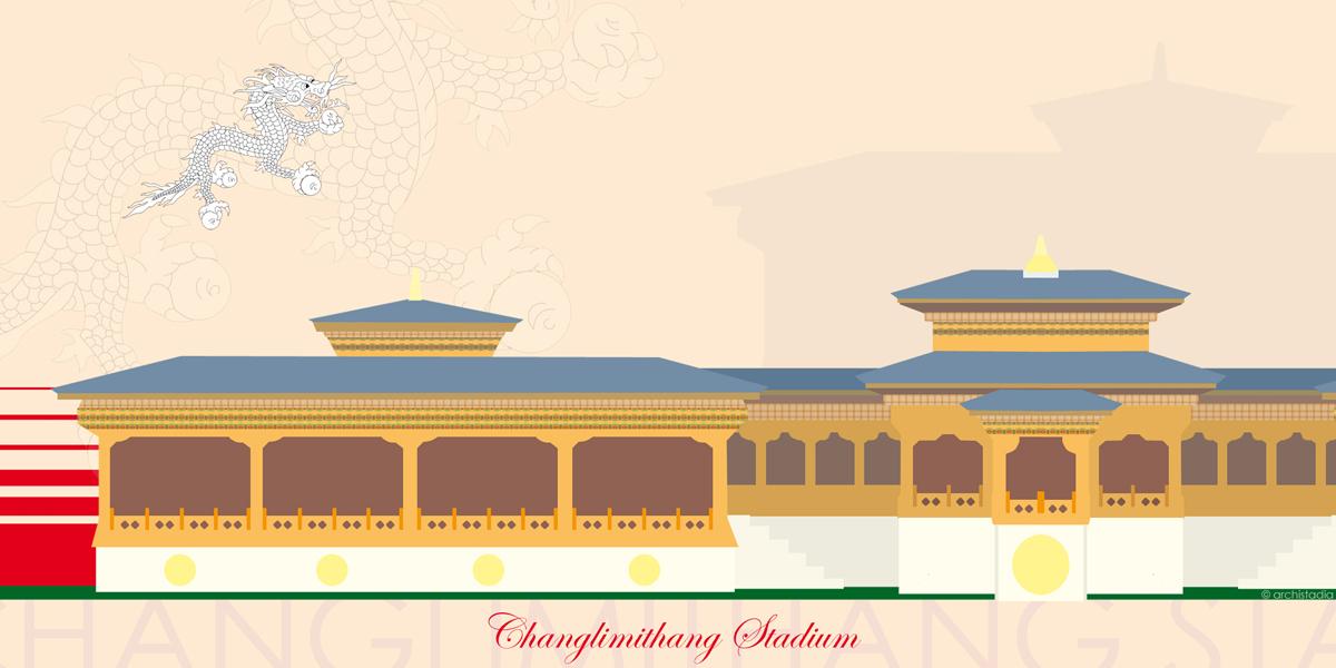 changlimithang stadium bhutan scheda