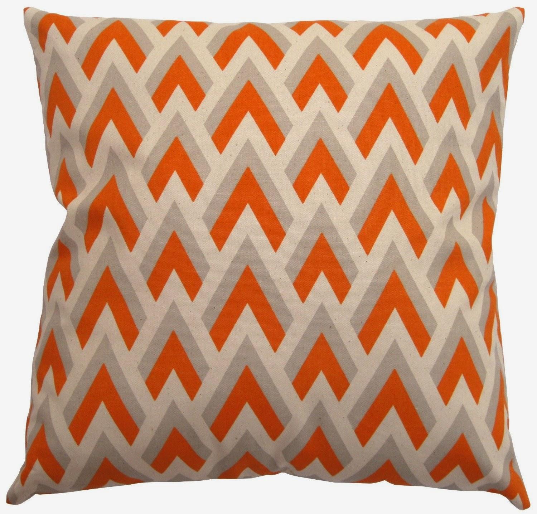 spikichevronorangecouchpillows - orange couch orange couch pillows