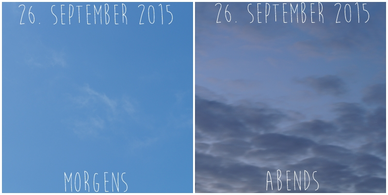 Blog + Fotografie by it's me! - Himmel am 26.09.2015