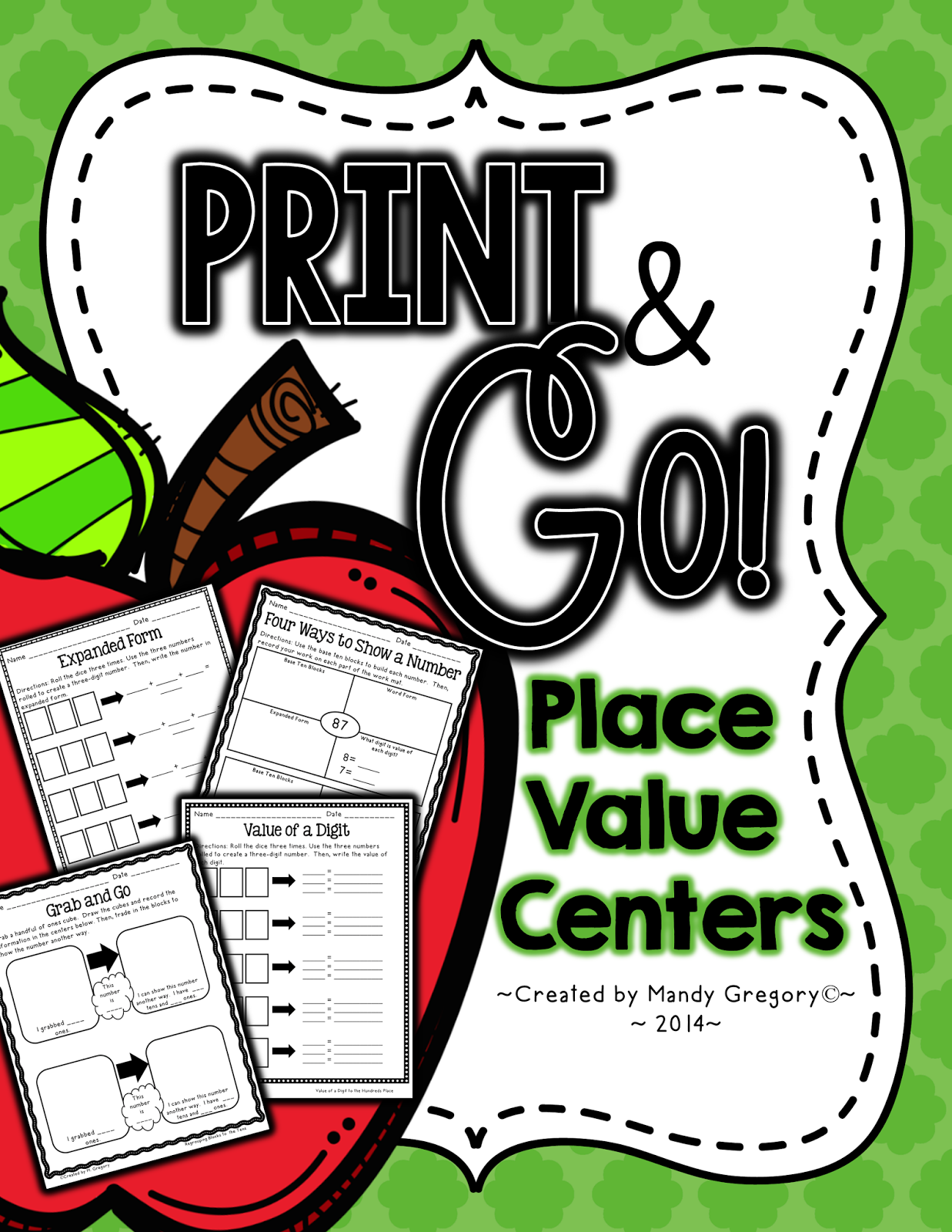 https://www.teacherspayteachers.com/Product/Place-Value-Print-and-Go-Centers-1401283
