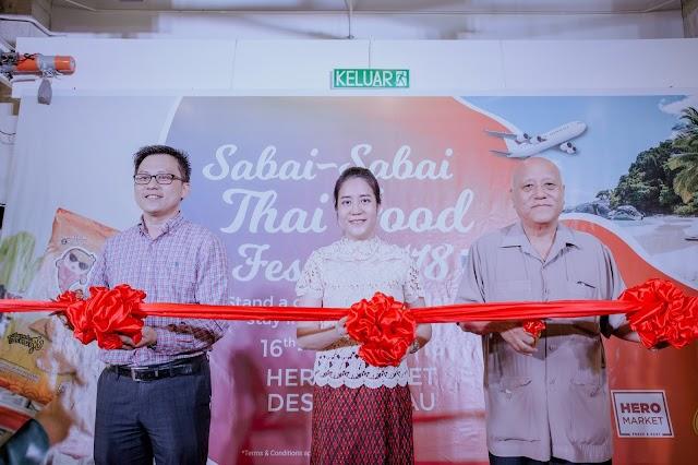 """Pameran ''Pesta makanan Thai 'Sabai-Sabai' 2018"""""""