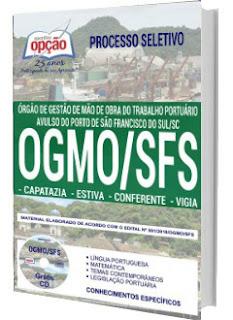 Apostila Concurso OGMO SFS 2018 - Capatazia, Estiva, Conferente e Vigia