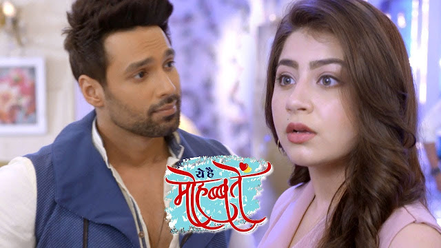 Ruhi slaps Karan for big cheat Aaliya rescued on time in Yeh Hai Mohabbatein