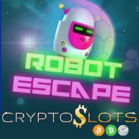 Get a 40% Deposit Bonus on Cryptoslots' New Robot Escape Slot