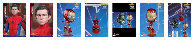 kolekcjonerskie figurki spidermana homecoming