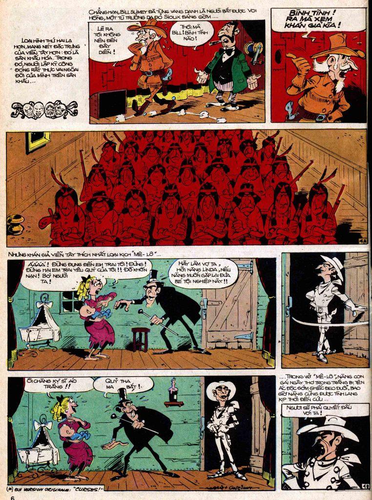 Lucky Luke tap 18 - ki si ao trang trang 4