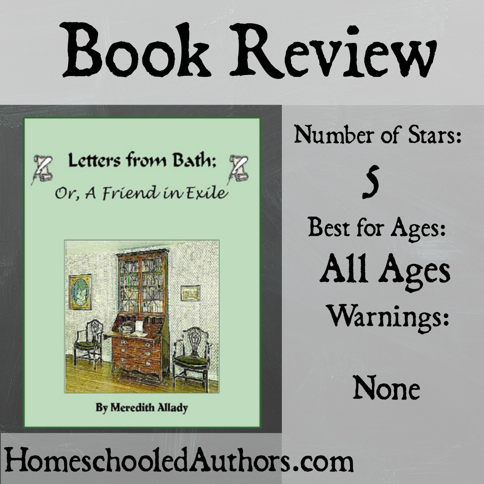 Book Review: Letters from Bath by Meredith Allady