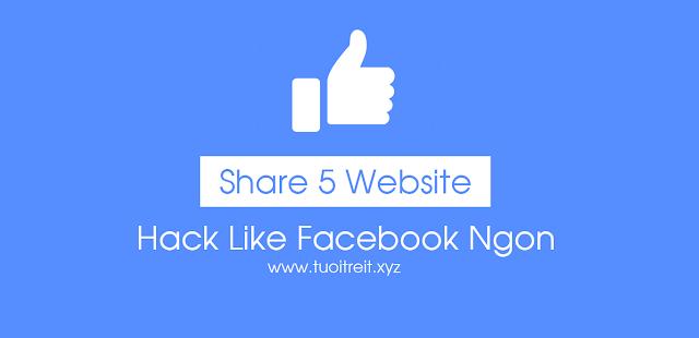 Share 5 Web Hack Like Facebook Ngon Dễ Sử Dụng