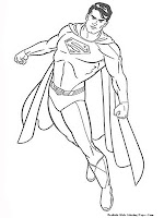 Coloring Pages Of Man Of Steel