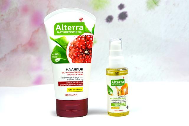 Alterra Naturkosmetik Haarkur für trockenes & strapaziertes Haar | Alterra Haaröl mit Bio-Aprikosenkernöl