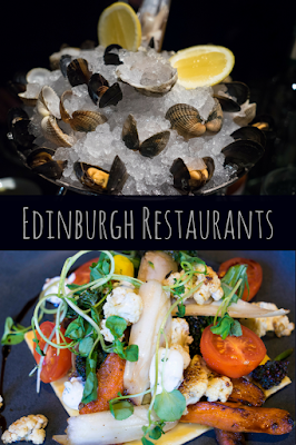 Travel the World: Five Edinburgh restaurants on or near the Royal Mile, including three which are Michelin rated.