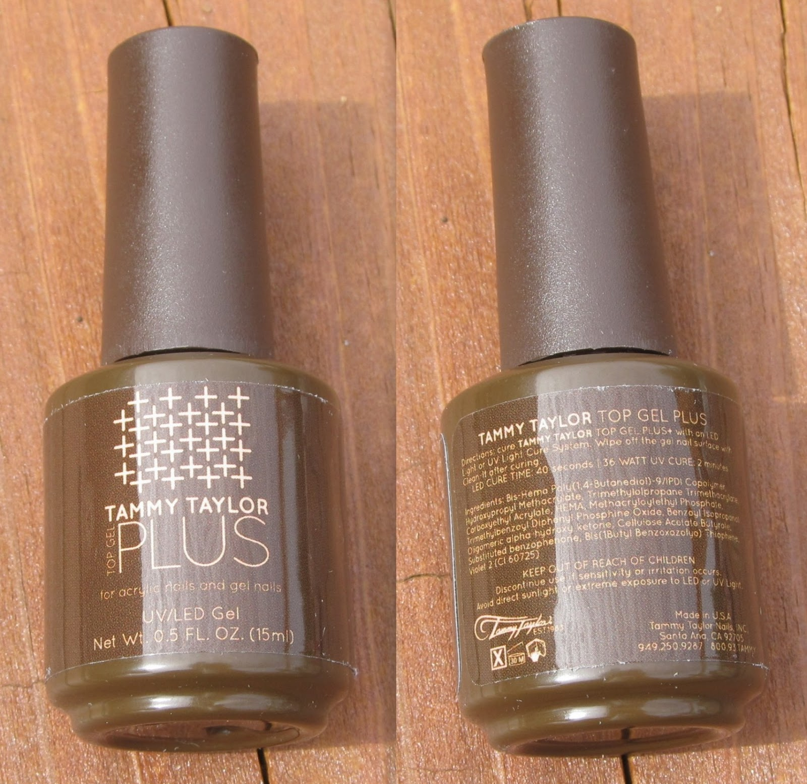 Tammy Taylor - Top Gel Plus, Clean-It, Clean Finish Buffing File, & Brush on Nail Glue