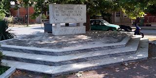 Μνημείο πεσόντων στην Περίσταση Πιερίας