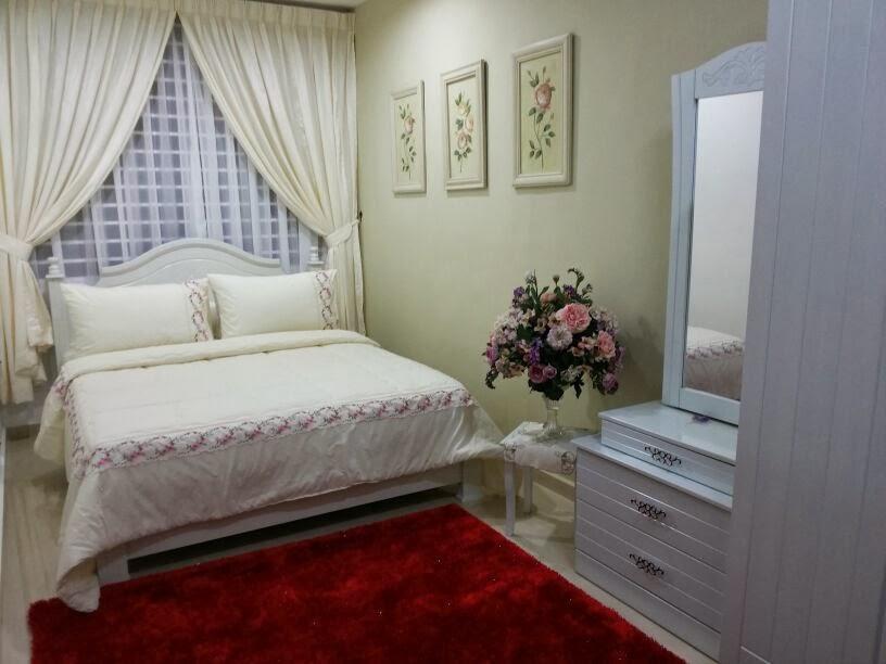 HaNis SaNia tips DIy hiasan bilik pengantin