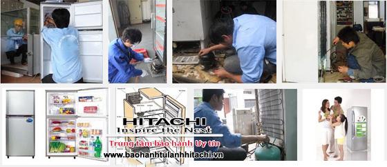 Thợ sửa tủ lạnh Hitachi tại Hà Nội giỏi phục vụ tại nhà