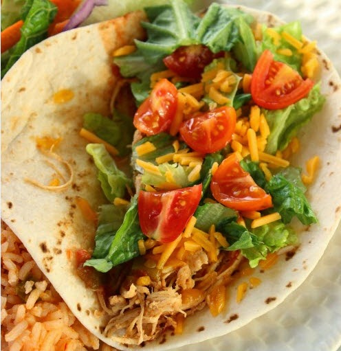Chicken Tacos - Eating On a Dime
