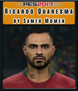 PES 2017 Faces Ricardo Quaresma by Sameh Momen