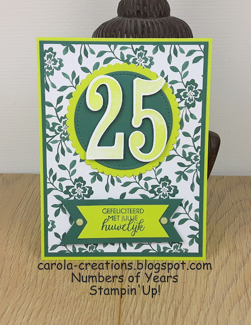 Stampin'Up! Numbers of Years