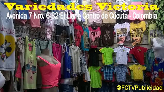 Bienvenido a Variedades Victoria en Cúcuta ★FélixContrerasTV♫