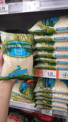 ペルーのお米