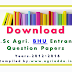 Previous Years M.Sc Ag-BHU Entrance Question Papers-2012-2016