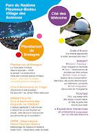 Programme fête de la science 2017 - l'Enssat à la Cité des télécoms à Pleumeur-Bodou