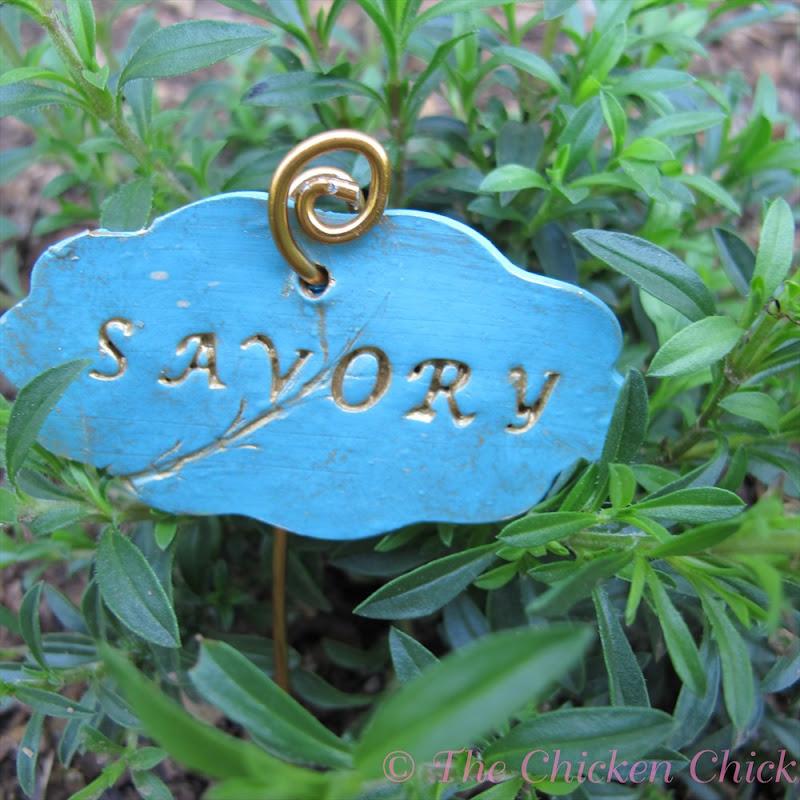 Herb Garden Markers Clay