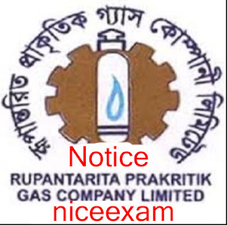 Rupantarita Prakritik Gas Company Job Exam Notice