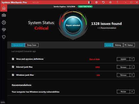 iolo System Mechanic 18 Pro Full