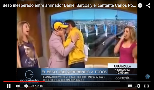 ¡Video! ¿Daniel Sarcos es Gay? Vea Declaraciones