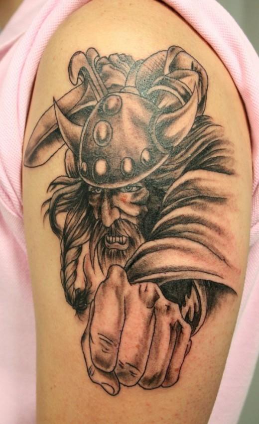 Protection Tattoo  Viking