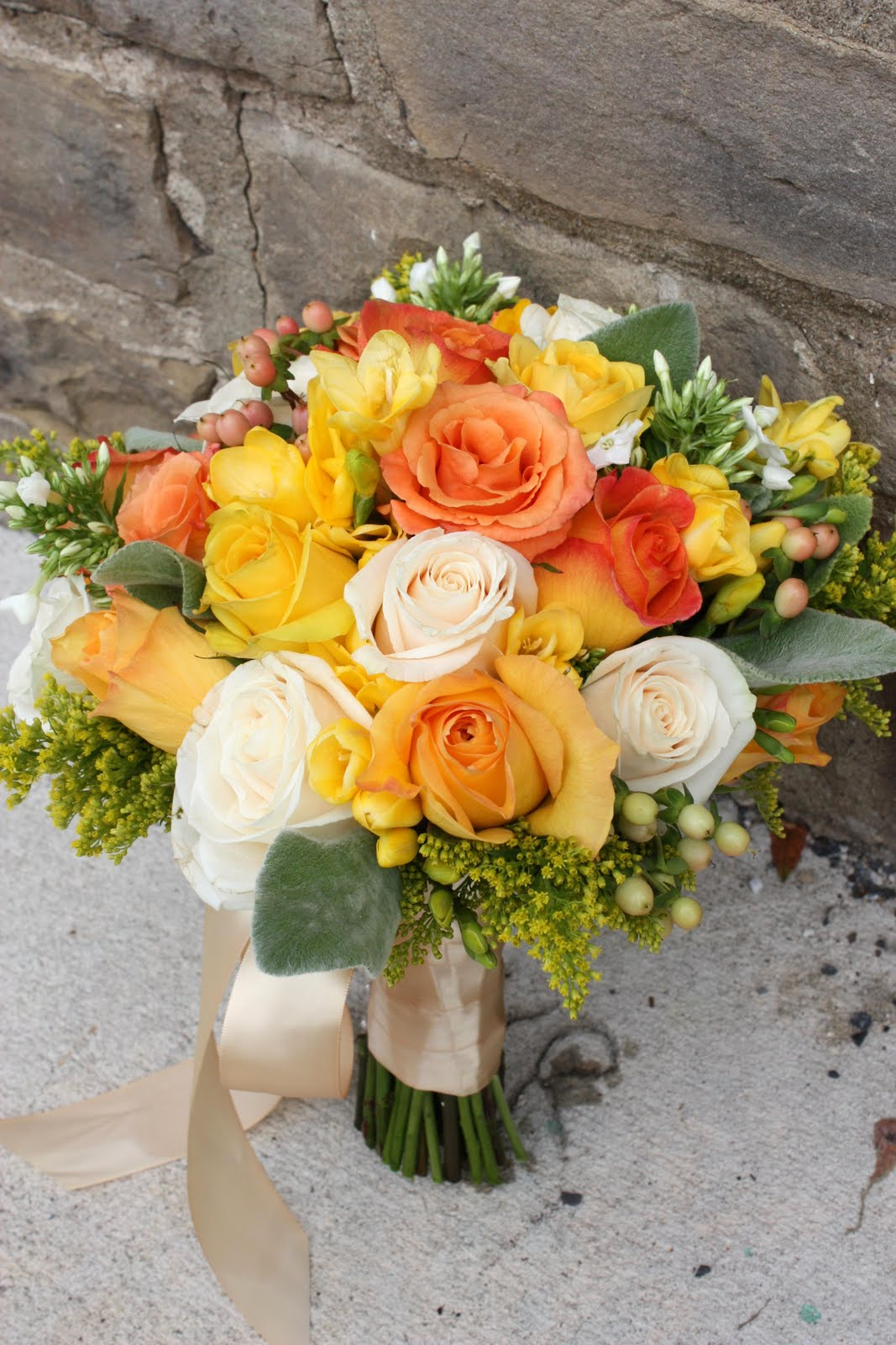 Petals & Paper Boutique: Yellow, Orange, And Ivory Wedding