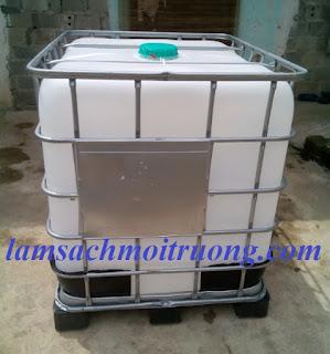 Cung cấp thùng nhựa 1000 lít, thùng chứa hóa chất công nghiệp, bồn nhựa 1000l giá rẻ