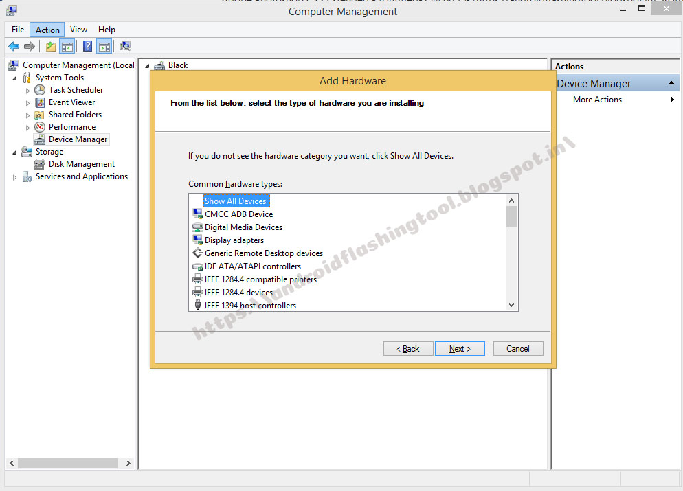 Download Mediatek Usb Vcom (android) Driver Windows 8