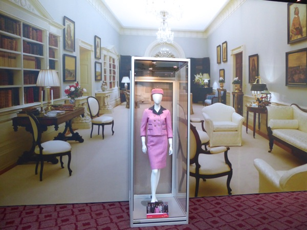 Jackie movie costume exhibit