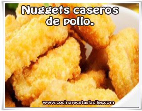 Receta de nuggets caseros de pollo✅Para mandar a tus hijos en la lonchera o si tienes apetito a cualquier hora del día, prepara unos fáciles nuggets caseros